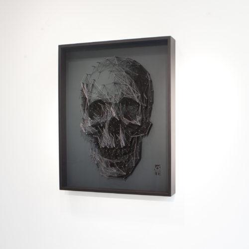 Medium Black Skull