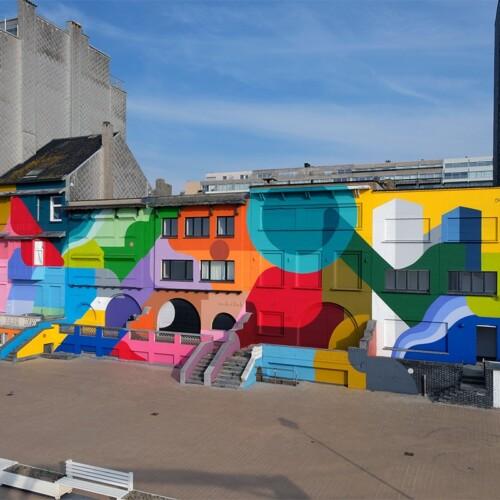 Mural in Nieuwpoort (BE)