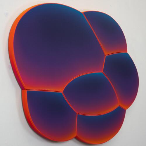 Violet Atomic Bubble